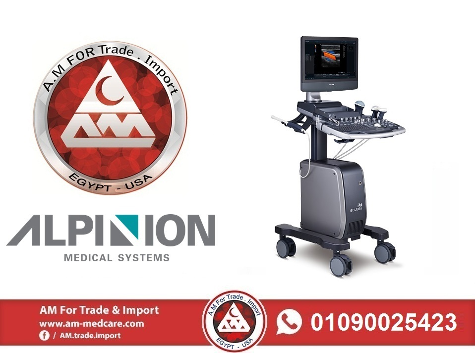 Alpinion Color Doppler Ultrasound Model E-CUBE 8LE